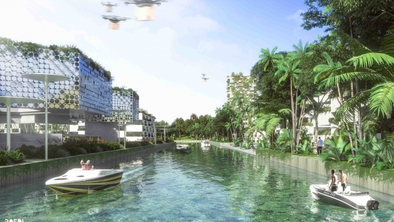 Eco-sustainable architecture - the green future designed by Boeri
