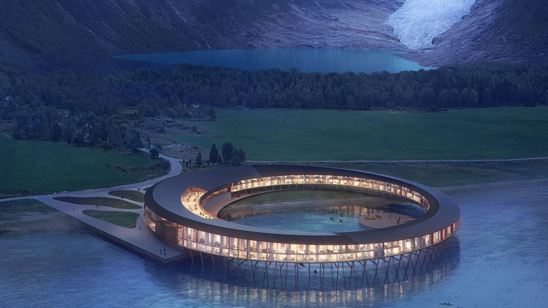 Svart Arctic Circle Hotel, vacation spot immersed in the Norwegian fiords