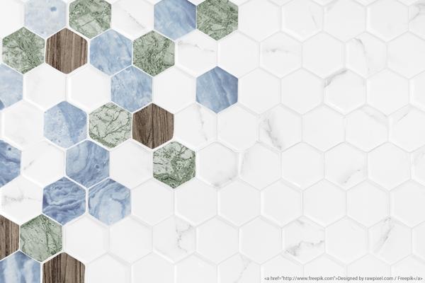 Cement tiles as an art form