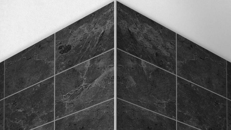 Corner profiles and corner edges for tiles, unique installation solutions