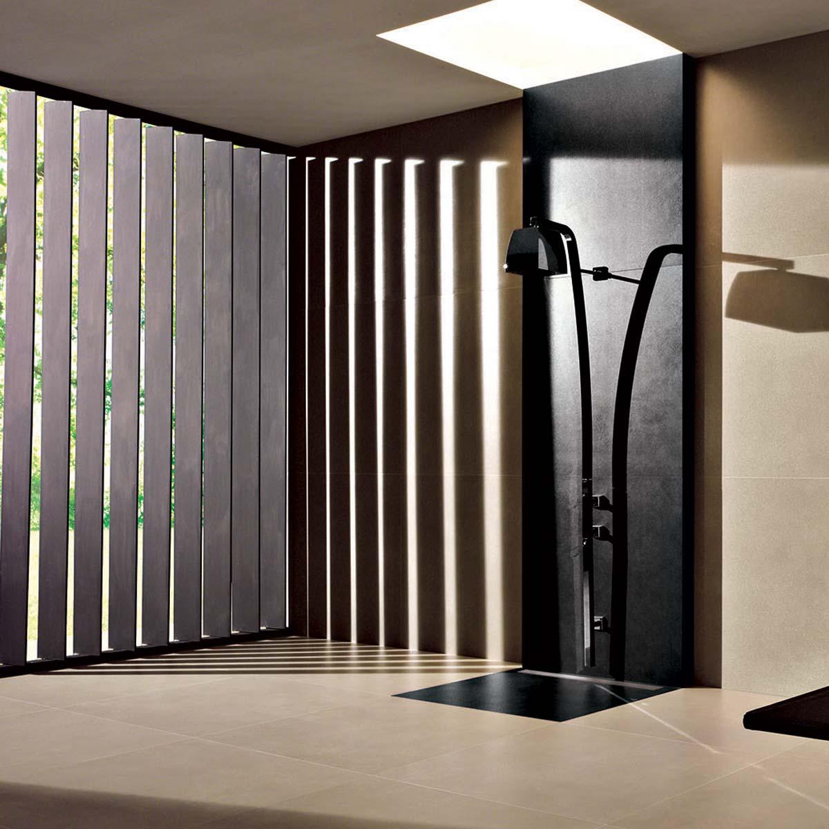 Drenaggio Pilette lineari per doccia a filo pavimento Profilitec