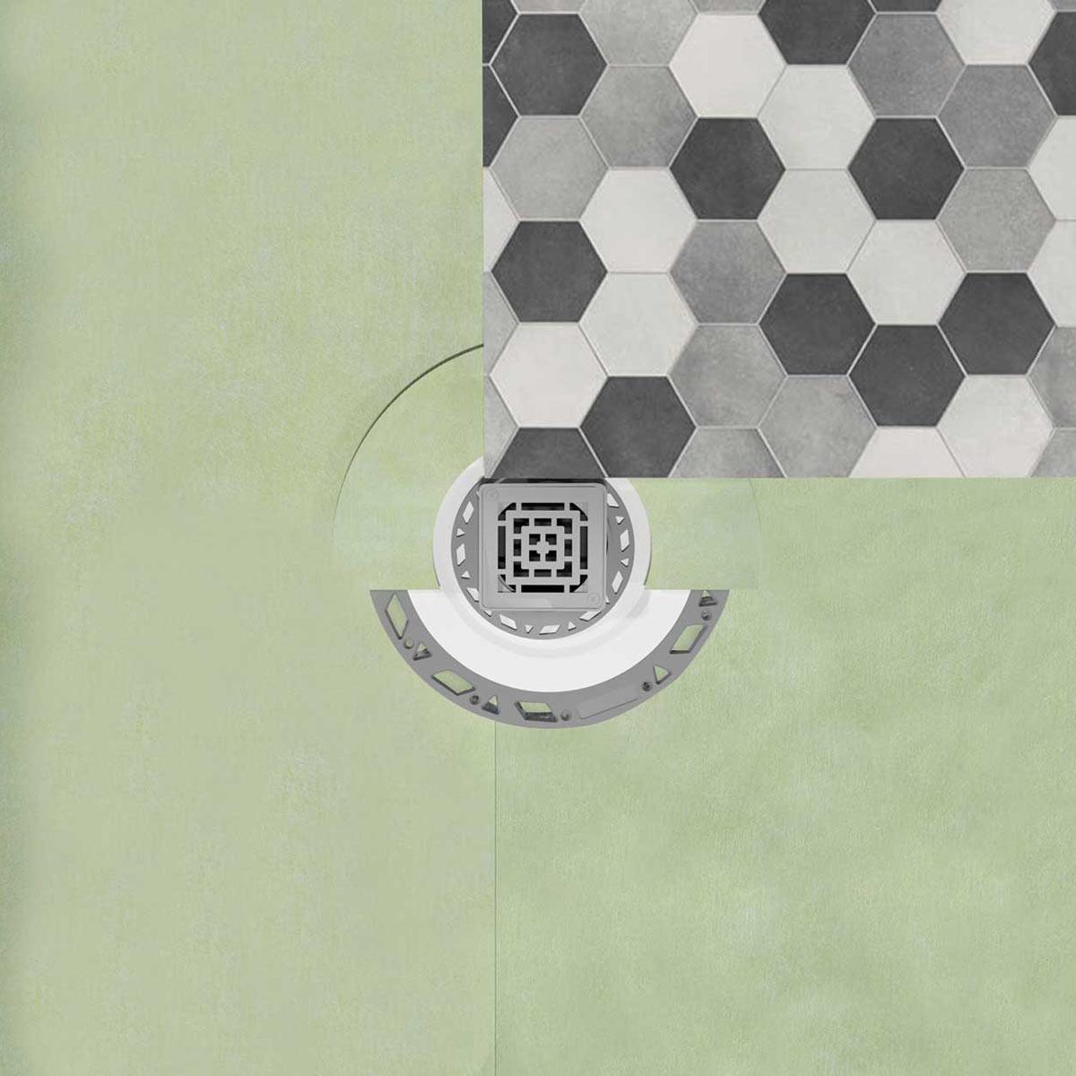 Drenaggio Piatti doccia a rapida installazione Profilitec