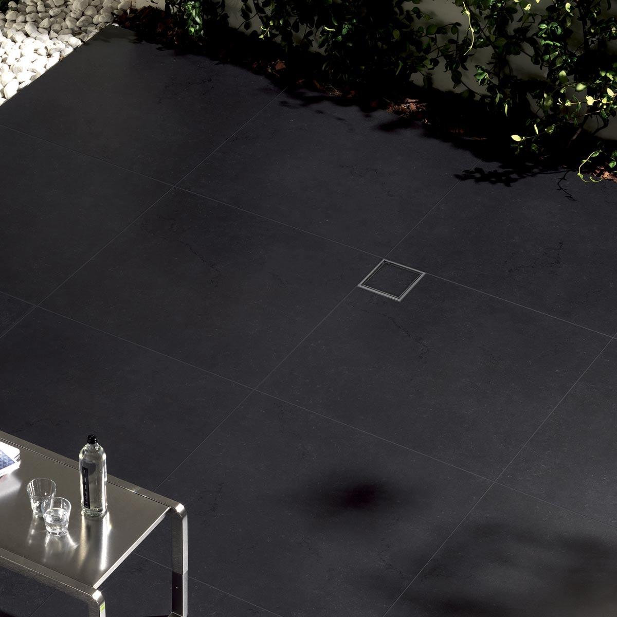 Drenaggio Pilette quadrate per doccia a filo pavimento Profilitec