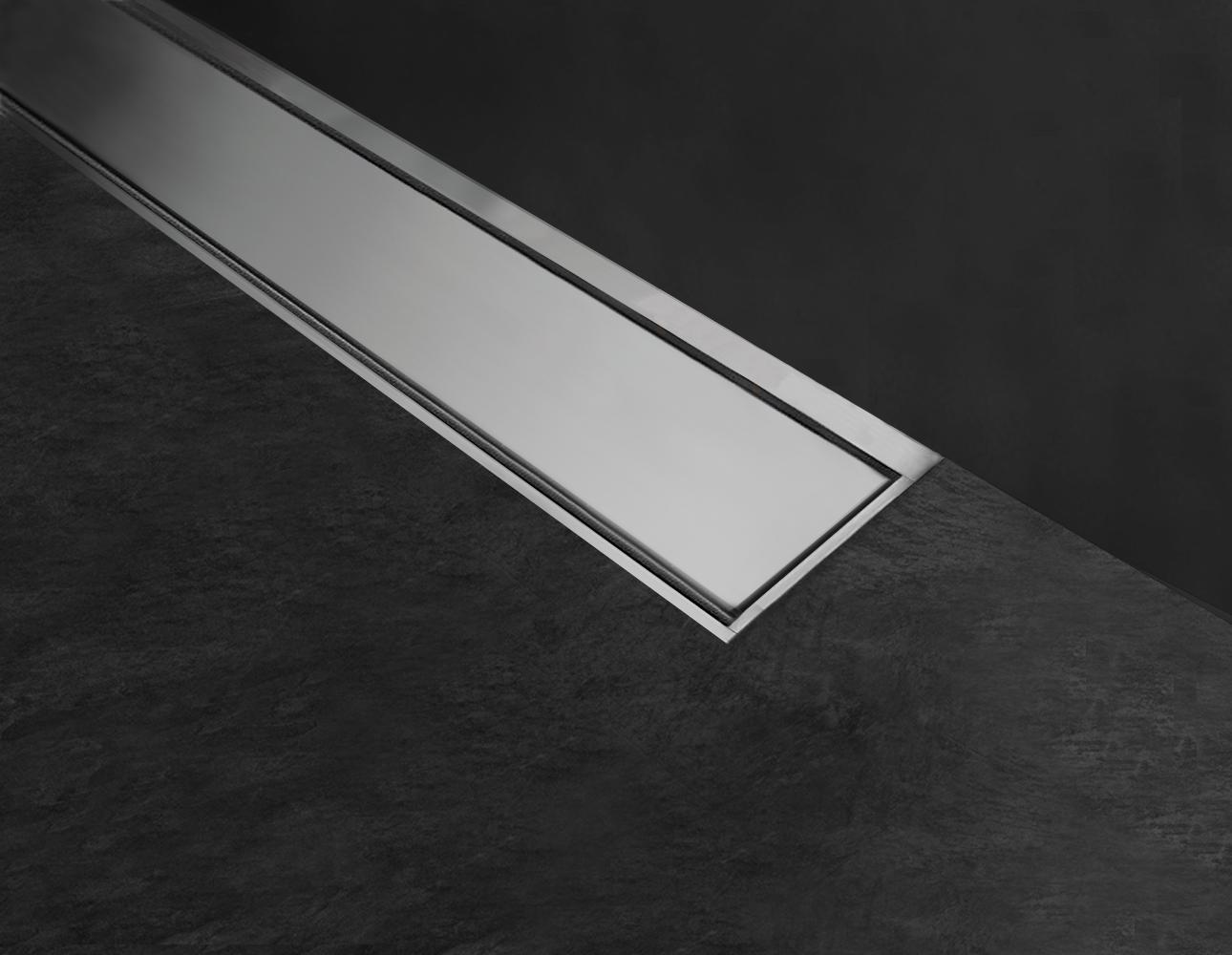 Drenaggio Cornici per pilette lineari doccia a filo pavimento Profilitec