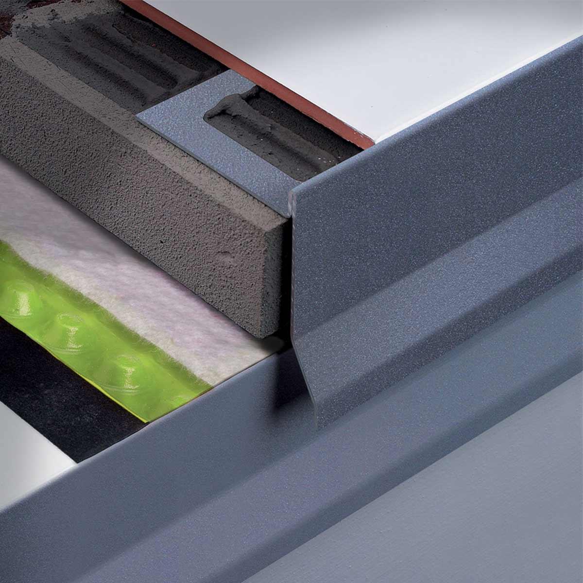 Profili perimetrali per terrazze Bordertec BBS A50 Profilitec