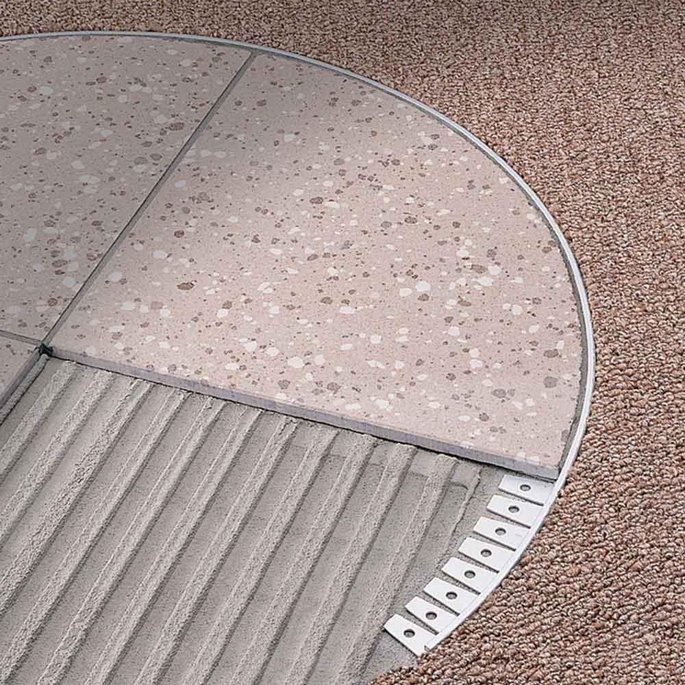 Profili per pavimenti Trimtec TR deformabile Profilitec
