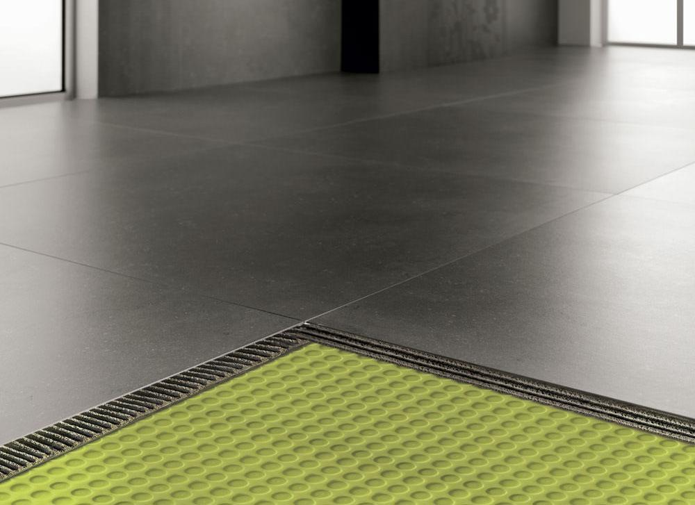 membrana per impermeabilizzazione di pavimenti interni ed esterni Floortec Profilitec+