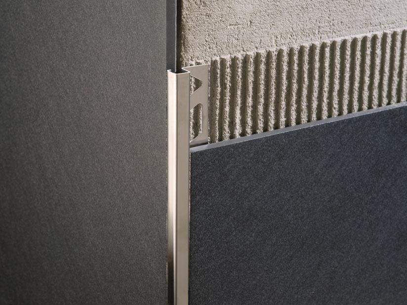 Il profilo angolare squadrato Squarejolly SJ in acciaio inox