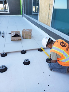 American express building Utah | Raised Floor with Uptec