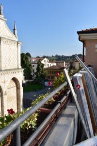 Vicenza - posa di pavimento sopraelevato su palazzo storico