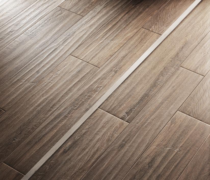 Profili per pavimenti in LVT effetto legno