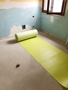 Rotolo di membrana Floortec | Casa privata a Pescara