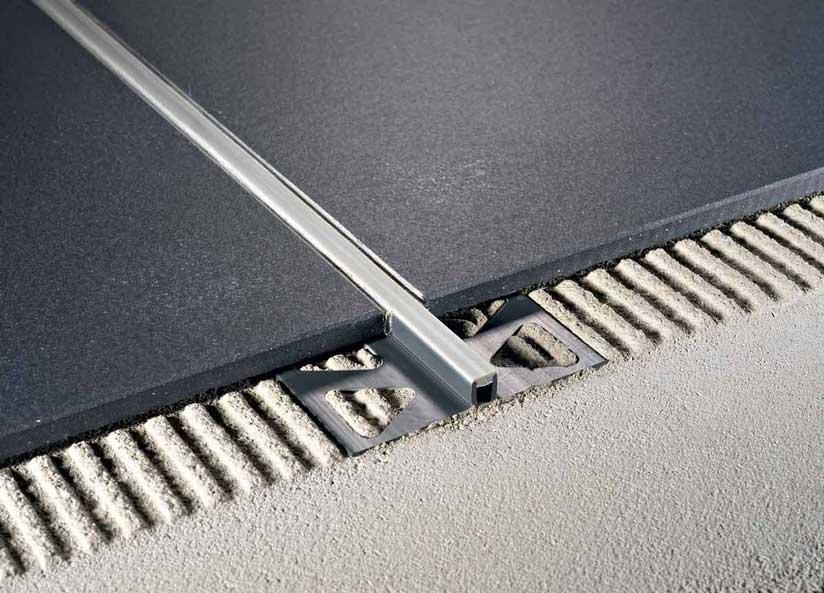 Giunto di dilatazione per pavimenti Coflex CAJ in PVC