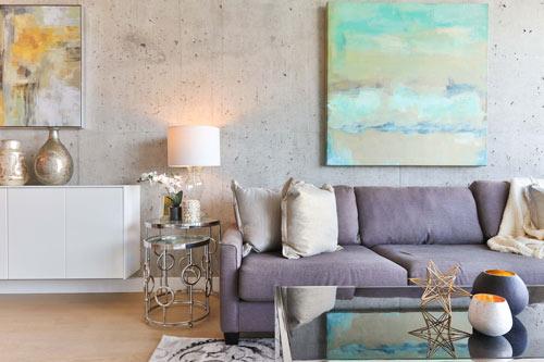 Battiscopa moderno soggiorno